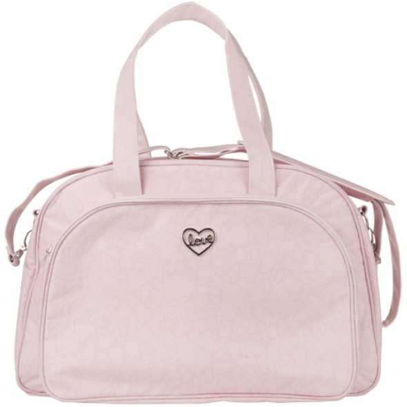 BOLSO MATERNAL + CAMBIADOR BISCUIT ROSA DE TUC TUC