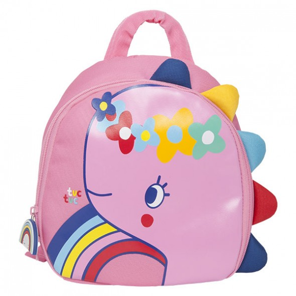 Mochila infantil rosa enjoy dream de Tuc-tuc